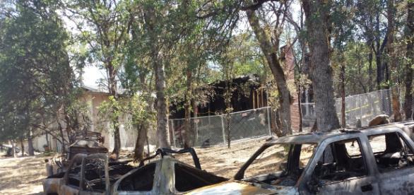 Fire at Wildwood source: Louann Carroll