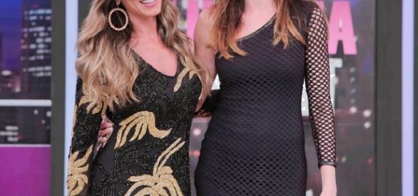 Nicole participou do 'Luciana by Night' (Foto: Rede TV!)