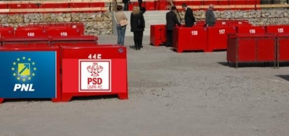 PNL și PSD negociază ca la piață