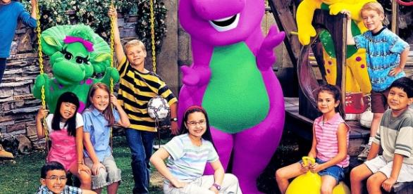 Antigo seriado Barney & Friends