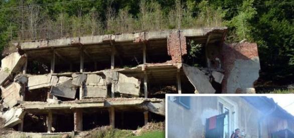 Bloc în ruină la Băiţa Plai – judeţul Bihor