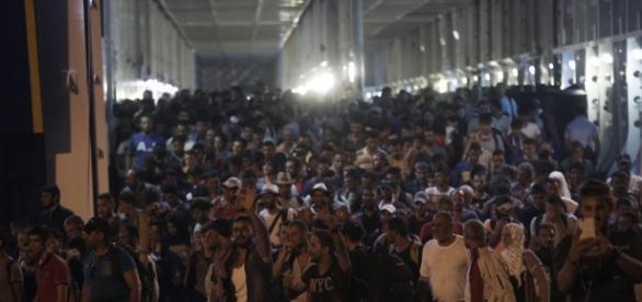 Especial Refugiados. Cientos de refugiados desplazados.