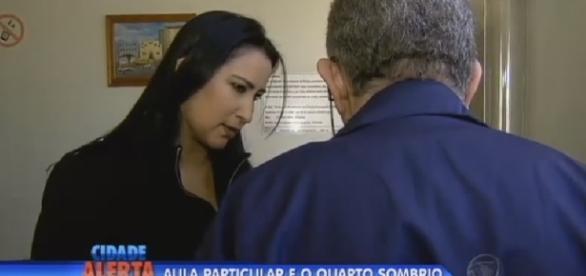 Professor é acusado de pedofilia - Foto/Reprodução: TV Record
