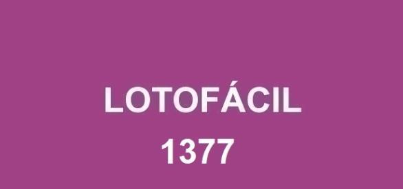 Resultado da Lotofácil 1377 será divulgado nessa segunda-feira
