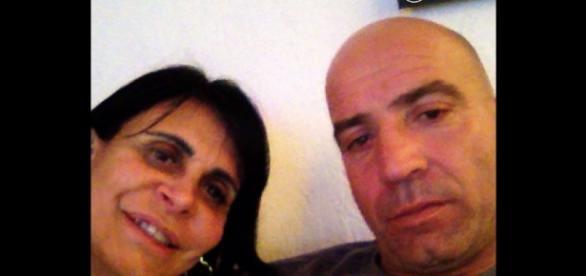 Cantora Gretchen ao lado do marido Carlos