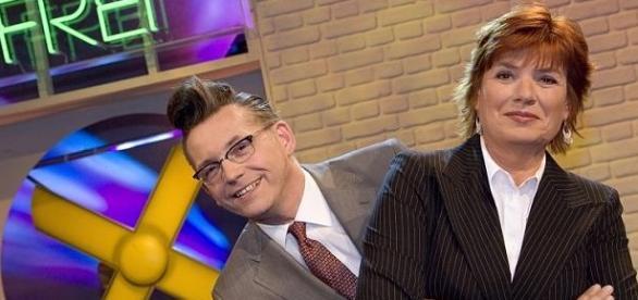 Die Moderatoren: Götz Alsmann und Christine Westermann (c)WDR