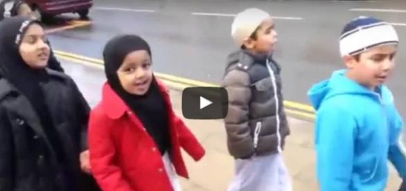 Podopieczni jednej z islamskich szkół w Bolton