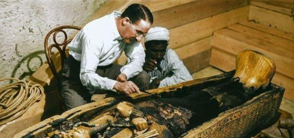 La tumba fue descubierta en 1922