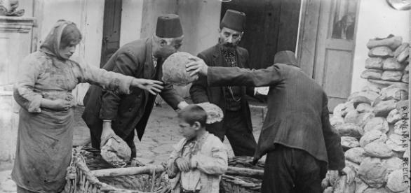 Refugiados armenios / Fuente: Wikipedia