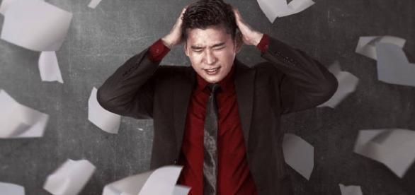A tristeza de um empregado chinês que não atingiu suas metas