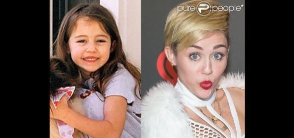 Miley Cyrus antes de se tornar uma 'garota problema'