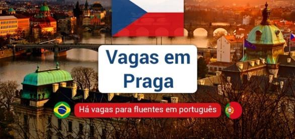 Praga, capital da República Tcheca, tem vagas de emprego para fluentes em português - Foto: Reprodução Noo