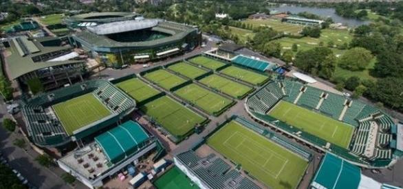 As quadras de Wimbledon estarão bastante movimentadas, entre os dias 27 de junho e 10 de julho