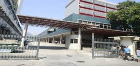 Hospital Souza Aguiar no qual preso foi resgatado