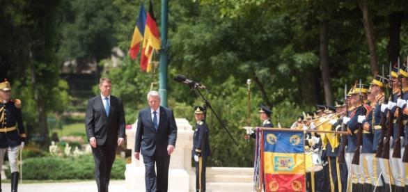Ioachim Gauck a vizitat România foto: presidency.ro
