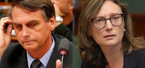 Jair Bolsonaro e Maria do Rosário: polêmicas e mais polêmicas