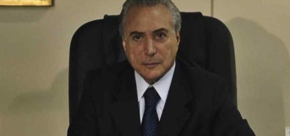 Michel Temer é o atual presidente da República Federativa do Brasil