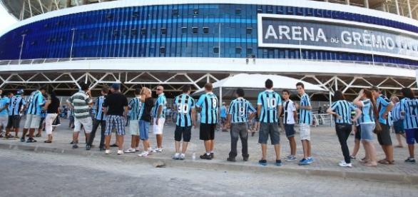 Negociação pode fazer com que a Arena seja definitivamente do Grêmio