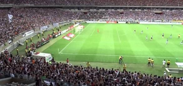 No Mineirão, o primeiro jogo do Timão sob o comando de Cristóvão Borges.