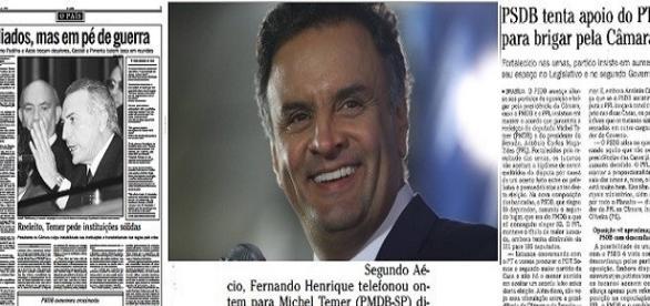 O Globo de 1998 mostra esquema de propina para eleger Aécio como presidente da Câmara (Foto: Arquivo O Globo)