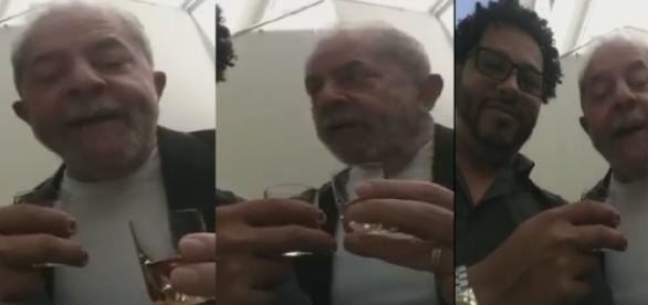 Vídeo mostra Lula mandando chupar porque é doce