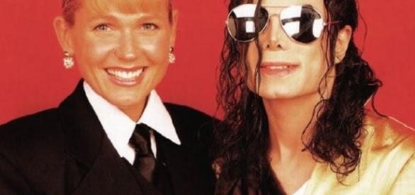 Xuxa e Michael Jackson - Foto/Divulgação