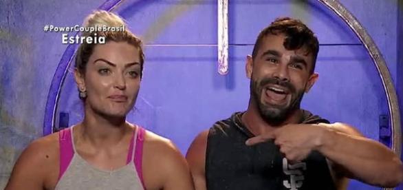 Laura e Jorge foram os vencedores do Power Couple Brasil