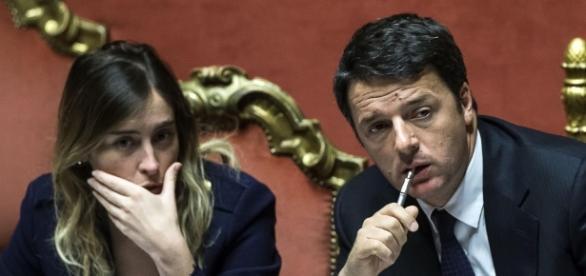 Matteo Renzi e Maria Elena Boschi hanno promesso che in caso di vittoria del No al referendum si faranno da parte.