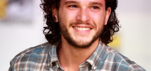 Actor Kit Harington as Jon Snow (Wikipedia)
