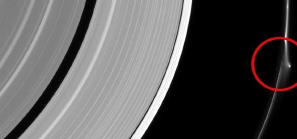 Curiosa imagem de Saturno gera debates na internet. (Cortesia NASA/JPL-Caltech)