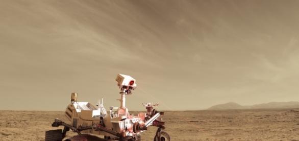 El Curiosity Rover halla Tridimita