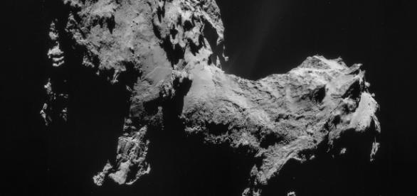 O cometa 67P/Churyumov-Gerasimenko tem um cherio que não é muito agradável