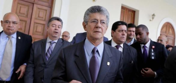 Presidente de la asamblea de Venezuela, Henry Ramos Allup.