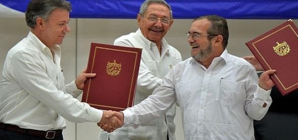 Se firma el acuerdo de paz para Colombia