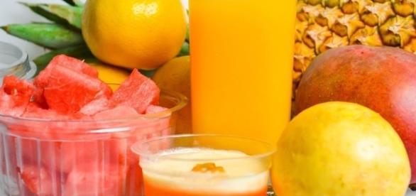 Suco de frutas no lugar de refrigerante. (Pixabay, domínio público)