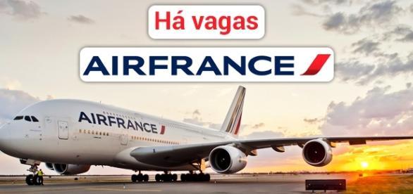 Air France tem 245 vagas de emprego abertas - Foto: Reprodução Avionale