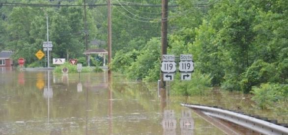 Así quedó West Virginia después de las fuertes lluvias