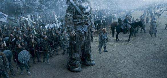 A batalha foi exibida no nono episódio de 'Game of Thrones'