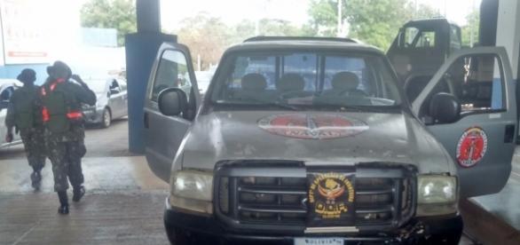 O veículo foi identificado graças ao número do chassi