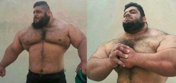Sajad Gharibi cântărește 175 de kilograme