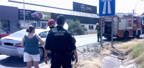 Foto: Twitter Policía Local Castilleja de la Cuesta