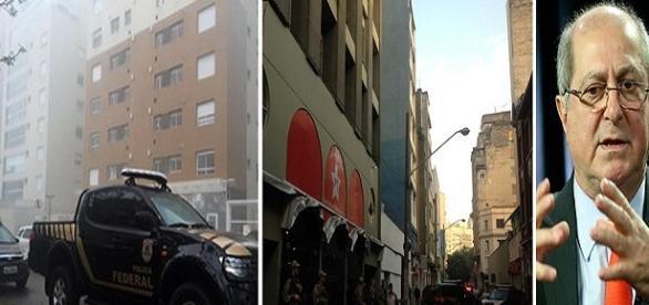 PF faz busca em diretório nacional do PT, em São Paulo