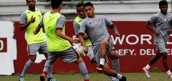 Recreativo no sábado encerra treinos do Flu para o clássico de domingo (Fonte: Nelson Perez / Divulgação FFC)