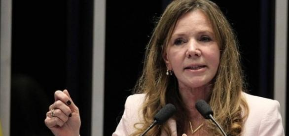 Senadora Vanessa Grazziotin (Foto: Jorge William / Agência O Globo)