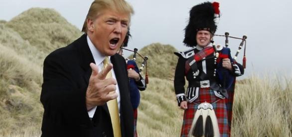 Donald Trump in Scozia 'spara a zero' sull'Unione Europea