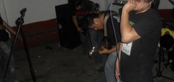 Fotografía tomada de un blog de metal