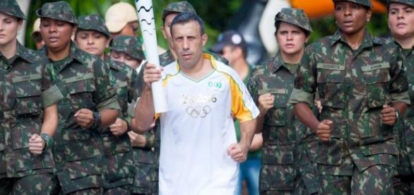 Ministério da Defesa garante segurança dos jogos. Foto: Exército Brasileiro / Facebook