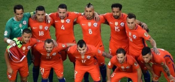 Seleção Chilena campeã da Copa América