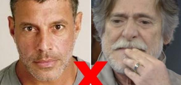 Alexandre Frota e José de Abreu - Foto/Montagem