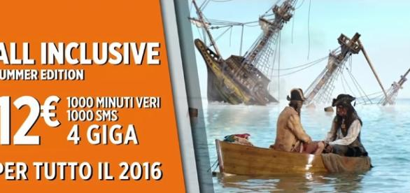 All Inclusive di Wind nella Summer Edition